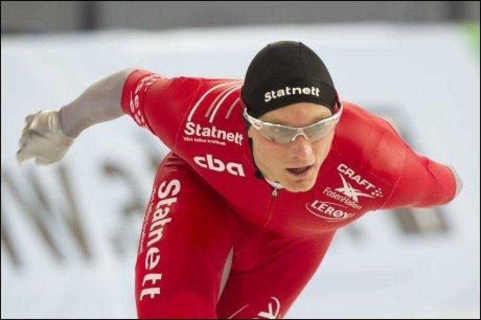 STÅR OVER: Håvard Bøkko går ikke fredagens 5000 meter. Foto: Scanpix