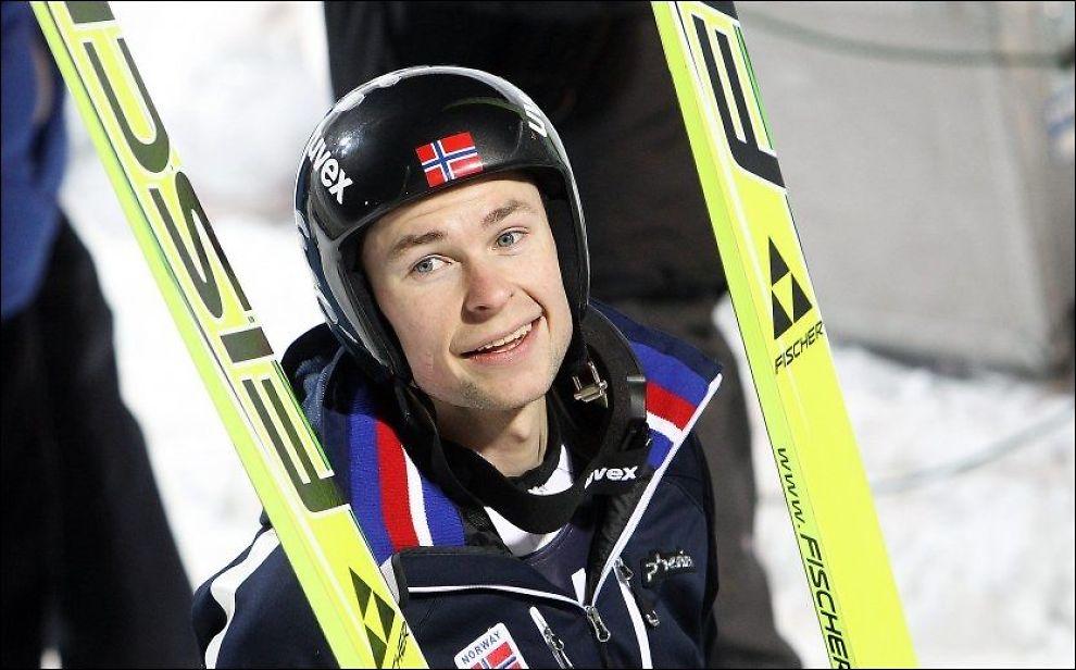 TILBAKE MED STIL: Anders Jacobsen. Foto: Arkivfoto: Magnar Kirknes, VG