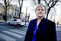 Solberg: Ingen kan true seg til opphold
