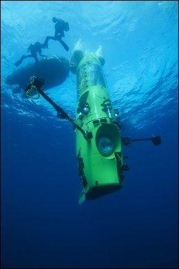 UBÅT: Deepsea Challenger. Foto: AP