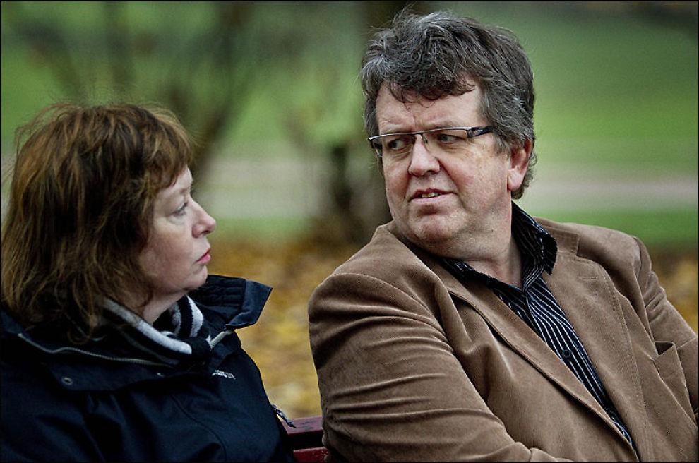 STØTTER MANNEN: Ordfører i Vågå, Rune Øygard sammen med kona Reidun. Bildet er tatt ved en tidligere anledning. FOTO: GEIR OLSEN/VG
