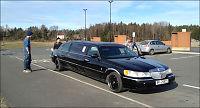 Kjørte limousin til harryhandel i Sverige