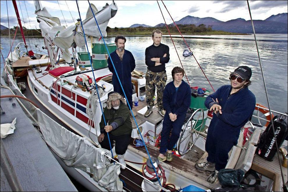 SLUPPET FRI: Jarle Andhøys seilbåt «Berserk» er sluppet fri fra arresten i Chile. Foto: MATTIS SANDBLAD/VG