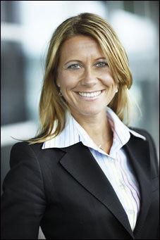 INFORMASJONSSJEF: Åsa Larsson i Norwegian Foto: Norwegian
