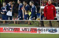 Illsinte Köln-fans tagget ned Solbakkens treningsfelt