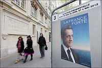 Sarkozy taper terreng