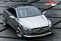 Ny Mercedes - med «reptiløyne»