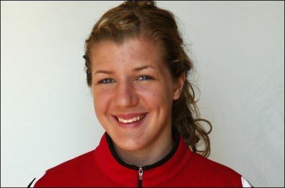 HISTORISK: Maren Knudsen scoret toppseriemål nummer 10.000 lørdag. Foto: Scanpix