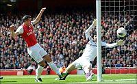 Arsenal-trøbbel etter van Persies bommer