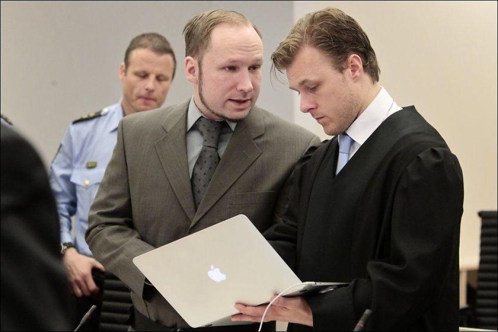 SIKKER: Anders Behring Breivik hevder at han ikke lenger er redd for å bli erklært utilregnelig. Foto: NTB Scanpix