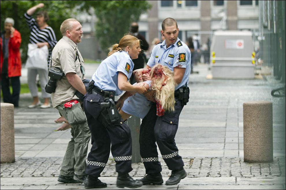 FIKK HJELP: Dette bildet ble vist frem i retten. Foto: NTB SCANPIX