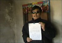 - Kinesisk aktivist beskyttes av USA