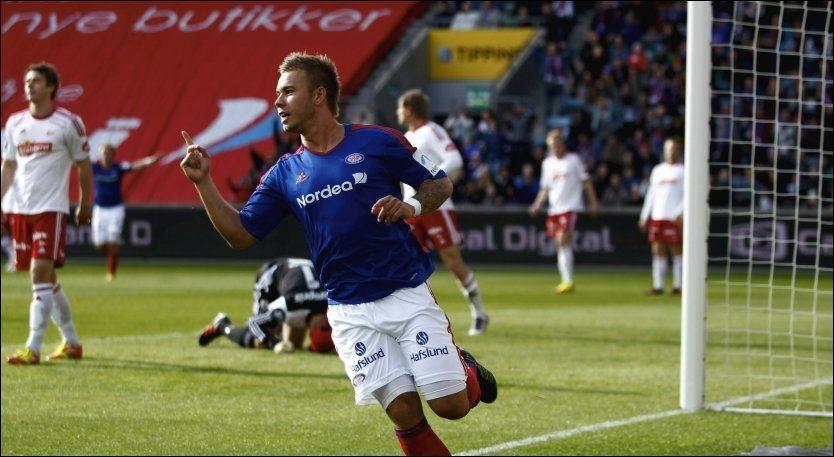 Pedersen scoret to da VIF slet seg til seier