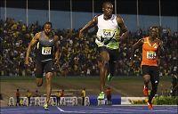 Bolt innledet OL-sesongen med 9,82 på 100 meter