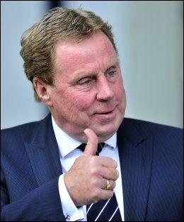 FÅR SVAR: I dag får Tottenham-manager Harry Redknapp endelig svar på om det blir spill Champions League neste sesong. Foto: Afp