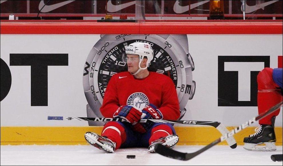 PÅ ALL-STAR-LAGET: Patrick Thoresens innsats i VM har blitt lagt merke til. Foto: Scanpix