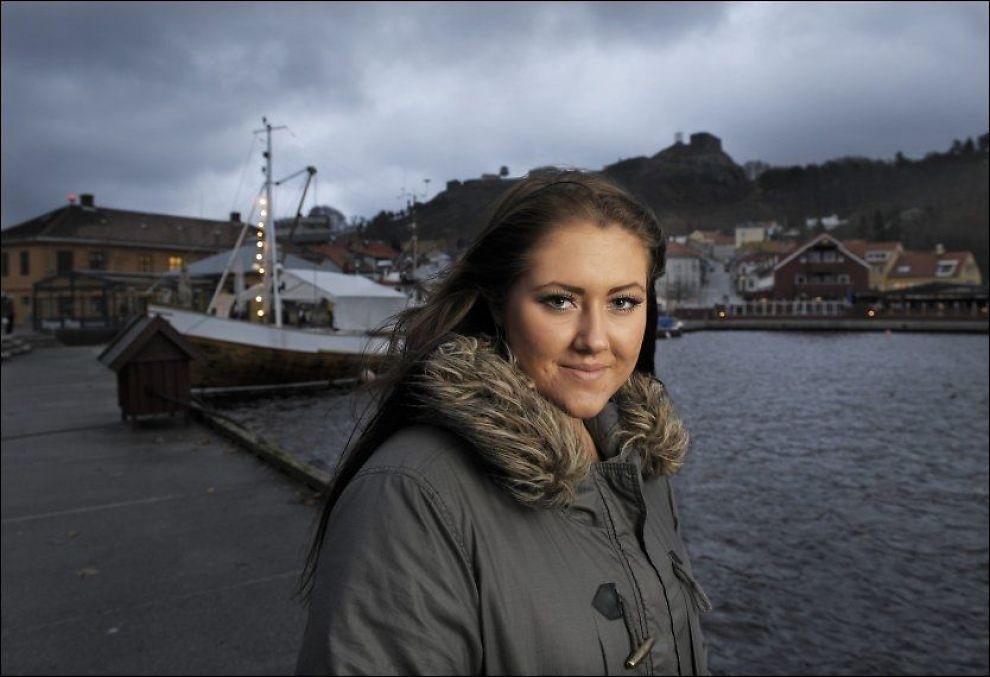 VITNET OM UTØYA: Cathrine Trønnes Lie fortalte om da hun ble skutt på Utøya. Foto: Helge Mikalsen, VG