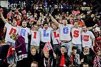 Fullt Ullevaal mot England