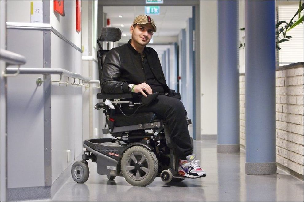 - BEDRE LIV ENN BREIVIK: Mohamad Hadi Hamed ble skutt tre ganger på Utøya, og er fremdeles på rehabilitering på Sunnaas. Foto: Foto: Håkon Mosvold Larsen, NTB SCANPIX
