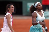 Serena Williams slått ut i første runde