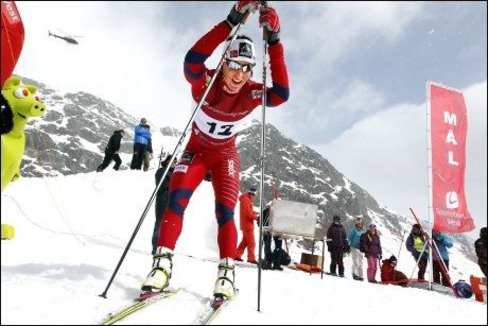SKI-VM: Lahti skal arrangere ski-VM i 2017. Bilde er av Marit Bjørgen fra et lokalt renn i Rørdal. Foto: Hallgeir Vågenes