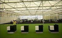 Flyplassterminal blir revet etter tre dagers bruk