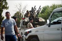 Kaotiske kamper på flyplass i Libya