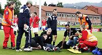 Dramatiske scener i Norges U23-landskamp