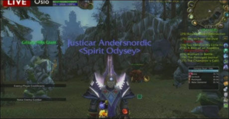 «ANDERS NORDIC»: Breivik kalte seg «Anders Nordic» i dataspillet World of Warcraft.