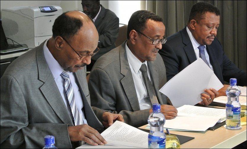 Mislykkede grenseforhandlinger mellom Sudan og Sør-Sudan