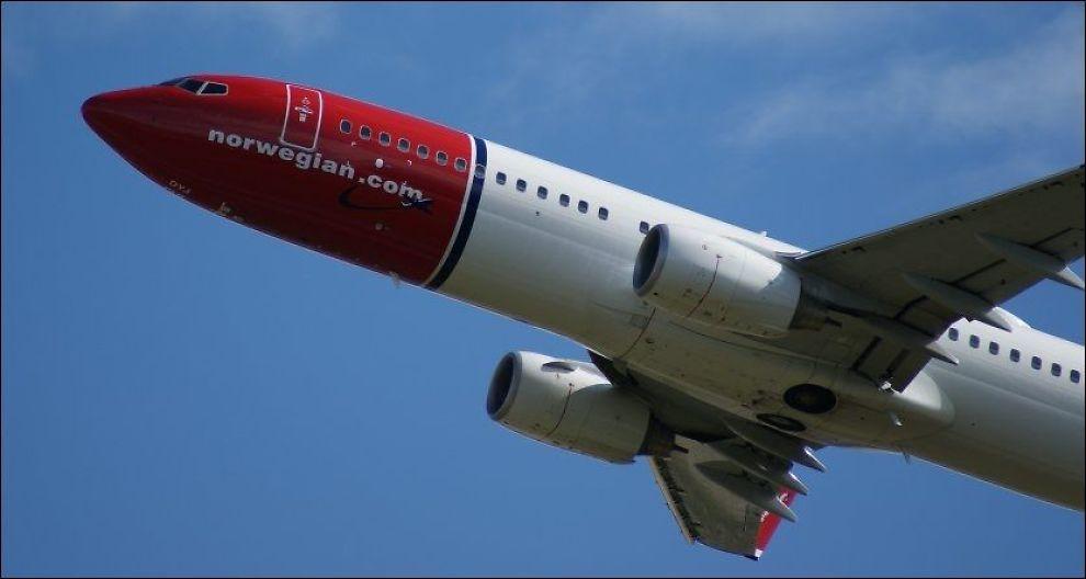UTVIDER: Norwegian satser på Sandefjord Lufthavn Torp. Foto: JAN OVIND / VG