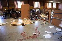 Russ ramponerte grendehus - skader for hundretusener