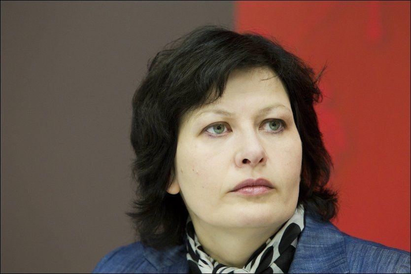 Helga Pedersen får kjeft av sine egne