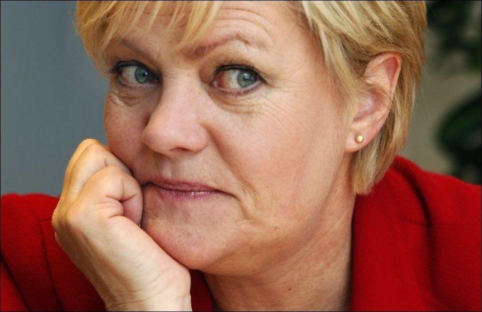MER PRIVAT: Kunnskapsminister Kristin Halvorsen åpner allerede fra høsten opp for at 17 nye privatskoler får etablere seg i Norge med nesten 2000 nye elevplasser. Foto: Nils Bjåland