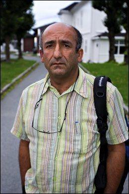BEKYMRET: Ahmed Bozgil i Hero. Foto: Eivind Griffith Brænde / VG
