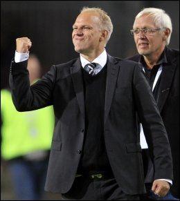 ODD-TRENER: Dag-Eilev Fagermo etter 1-0-seieren mot Vålerenga i fjor. Foto: Cornelius Poppe, NTB Scanpix