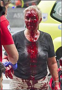 Bombeoffer: Høyblokka ikke tømt for meningsinnhold