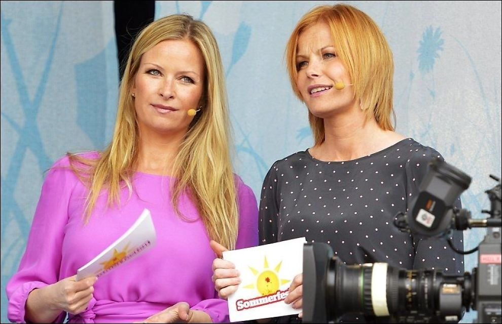 TAR IKKE AV: «Sommerfesten» med Pia Lykke og Synnøve Skarbø på TVNorge, tar ikke på noen måte av. Foto: TERJE MORTENSEN Foto: Terje Mortensen / VG