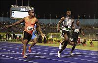 Blake knuste Bolt på 100 meter