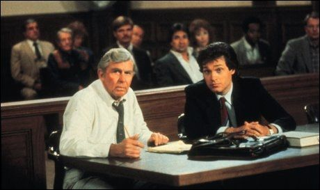 KJENT SOM MATLOCK: Andy Griffith spilte rollen som Matlock i TV-serien med samme navn. Dette bildet er fra 1989. Foto: KPA.