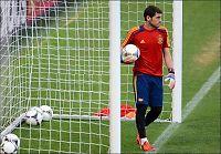 Casillas ville stoppe EM-finalen