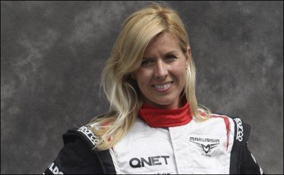 ALVORLIG SKADET: Formel 1-testføreren Maria de Villota (32) ble alvorlig skadet under testing i Cambridgeshire. Foto: Ap