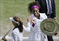 Serena Williams tok sin femte Wimbledon-tittel