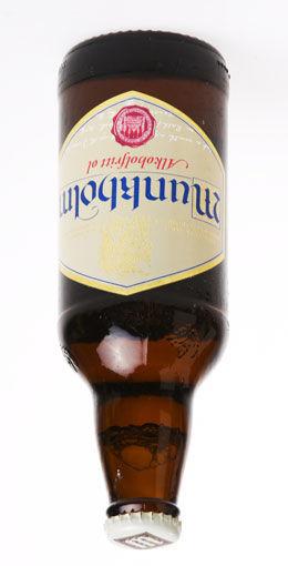 OPP NED: Noen mener at forbudet mot reklame for bryggerienes alkoholfrie produkter virker mot sin hensikt. Foto: Frode Hansen