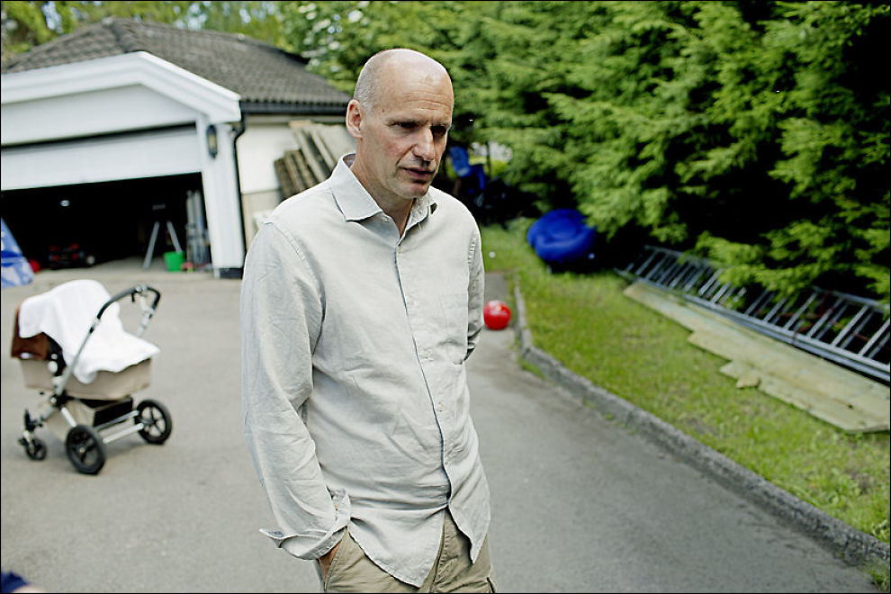 HJEMME: NTB Scanpix har intervjuet Geir Lippestad, Anders Behring Breiviks advokat, i hjemlige omgivelser på Nordstrand i Oslo. Foto: Stian Lysberg Solum / NTB Scanpix