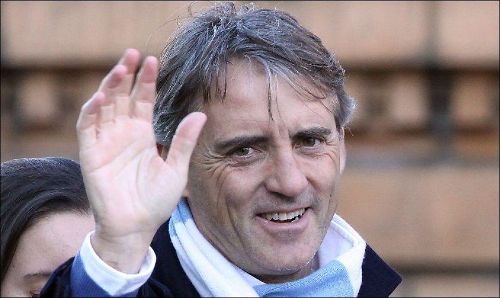NY KONTRAKT: Italienske Roberto Mancini har skrevet under en femårskontrakt med Manchester City. Foto: PA Photos/ Eamonn