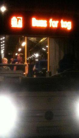 NEKTET: Passasjerene ville ikke godta at NSB-bussen ikke tok dem til Gardermoen, og nektet å gå av. Foto: Privat