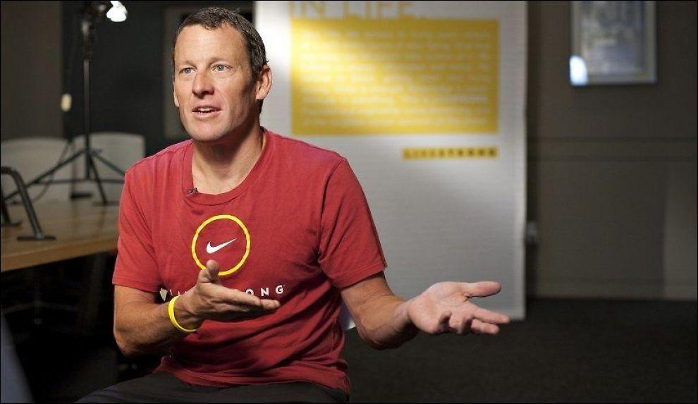 NEKTER ALL SKYLD: Tre av Lance Armstrongs mangeårige hjelpere er utestengt fra all idrett på livstid. Amerikaneren nekter for å ha jukset og dopet seg i sykkelsporten. Foto: AP