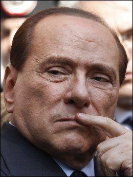 President i AC Milan Silvio Berlusconi. Foto: AP/ Luca Bruno