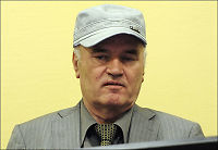 Forsvarer: - Mladic for syk for retten